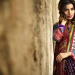 Khaadi latest spring summer 2014 lawn collection