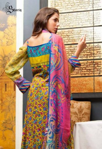 Shariq Libas Embroidered collection 2014 suits