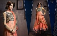 Women fancy frocks 2014 latest collection
