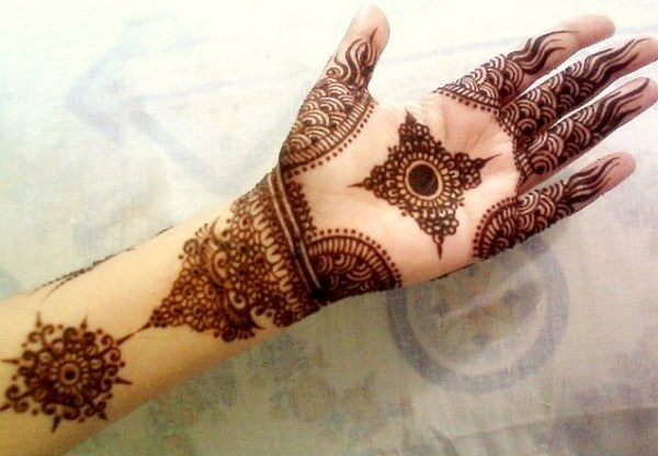 Simple Pakistani Mehndi Designs Pattern 2016