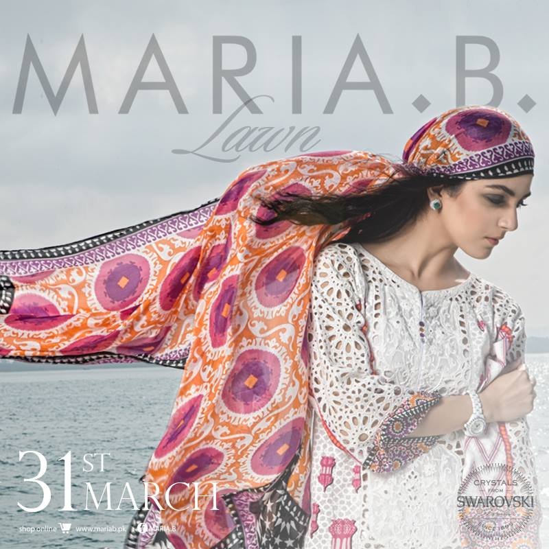 Maria B summer collection 2016