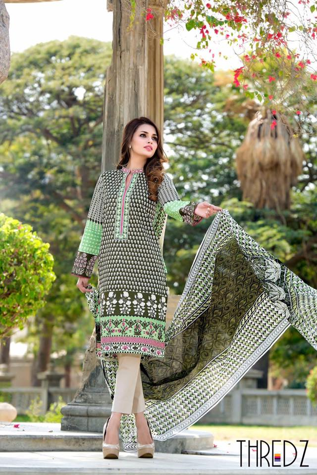 Thredz summer lawn collection 2016