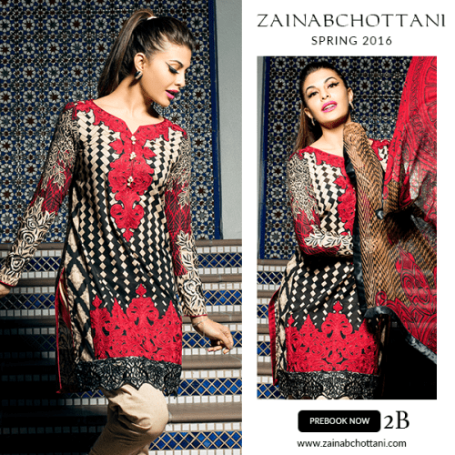 Zainab Chottani summer collection 2017