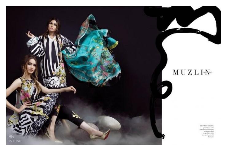 Sana Safinaz Muzlin Vol. 2 Eid Collection 2017