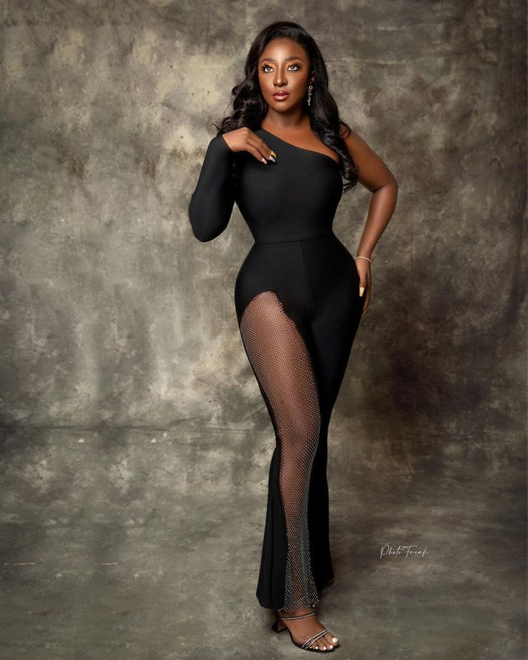 Ini Edo- Looking Gorgeous In Jumpsuits