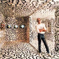 Keith Haring Art - 80's pop culture icon