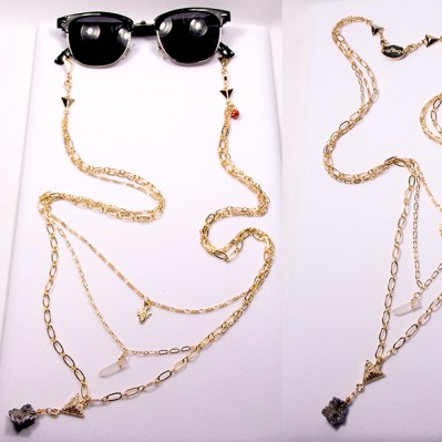 Eyewear Jewelry The Metropolitan $230 http://www.chainmenyc.com