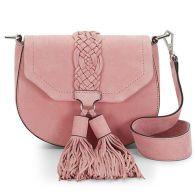 Rebecca Minkoff Nubuck Isobel Saddle Bag $295 www.RebeccaMinkoff.com