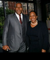 Robert F. Smith and Vicky Fuller
