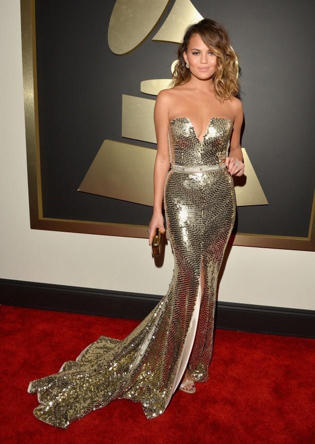 Chrissy Teigen S Best Red Carpet Looks Fashionsy Com