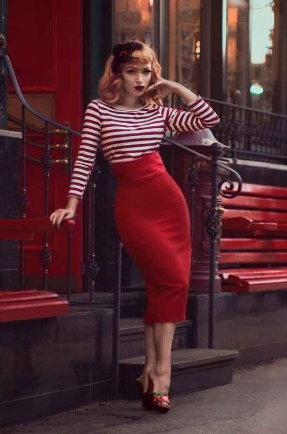 How To Wear High Waisted Skirts 2019