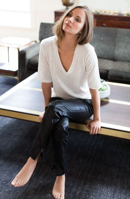 How To Wear Leather Pants Outfit Ideas 2019