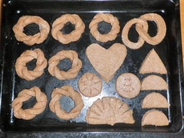 Sweet Coconut Fried Bread Shapes Dough Fun Braid Heart Infinity Sun