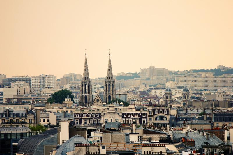 Paris View Le Deli Cieux Paris Rooftop Printemp