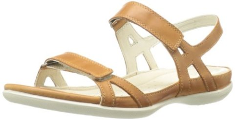 Best Walking Sandal Shoes For Travel Europe ECCO Women's Flash Quarter Strap Dress Sandal