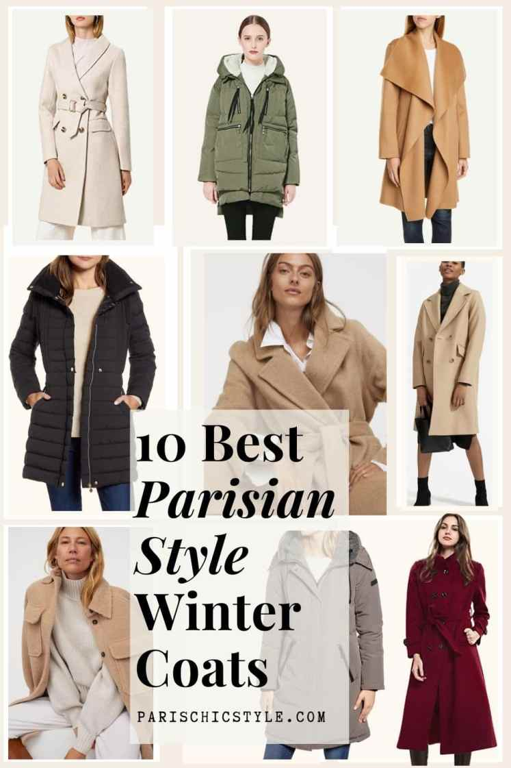 Best Winter Coats For Women Everyday Work Travel Street Style Parisian Style Chic Fashion Travel Accessories New York Italy