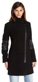 Types Of Coats Marc New York by Andrew Marc Women's Ada Moto Wool Coat