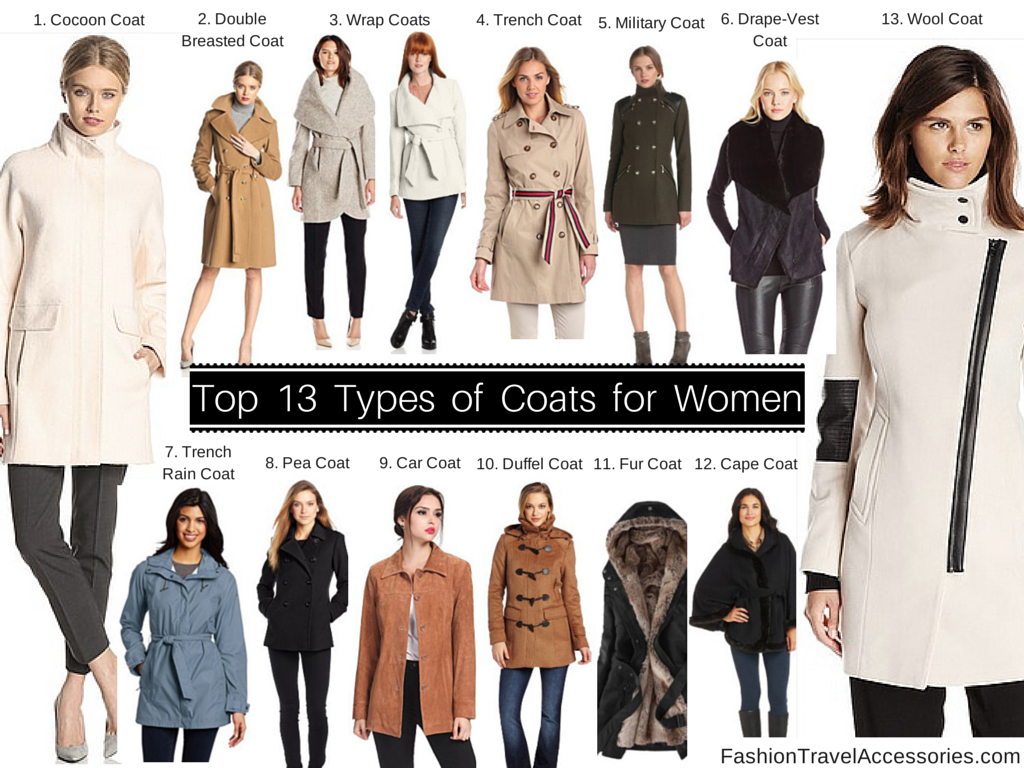 Types-of-Coats-for-women-winter-fall-autumn-spring-1