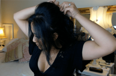 bouffant hairstyle