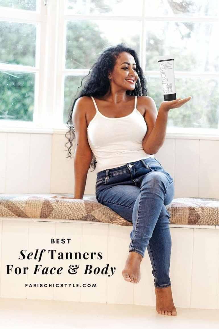 Best Self Tanner For Face Body Pale Skin Medium Skin Fake Tanner Paris Chic Style