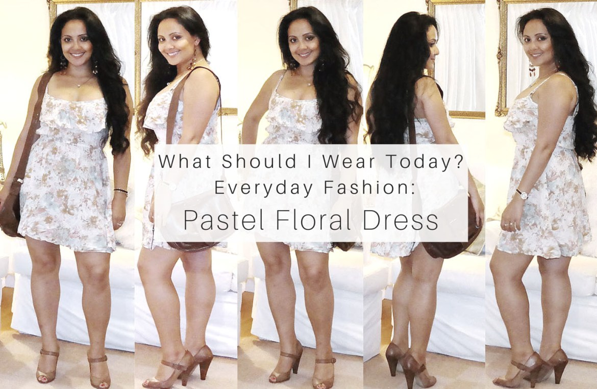 What_should_I_wear_today_Everyday_Fashion_Outfit_of_the_day_Pastel_Floral_Dress_7