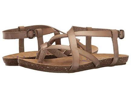 11 Comfortable Walking Shoes Europe Blowfish Women's Granola Fisherman Sandal
