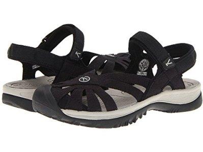 13 Comfortable Walking Shoes Europe Keen Women's Rose Sandal