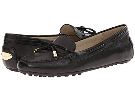 20 Comfortable Walking Shoes For Europe Michael Kors Women's Daisy Metallic Leather Penny Loafer