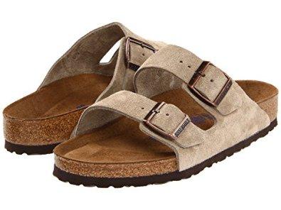 9 Comfortable Walking Shoes Europe Birkenstock Unisex Arizona Soft Footbed Sandal