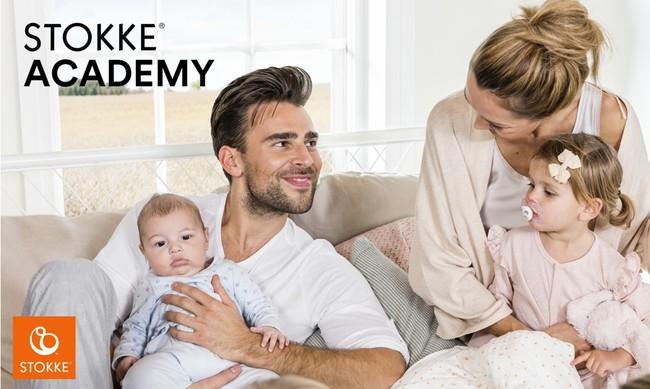 両親学級がなくなって不安なプレママ・プレパパへ。オンラインで学ぶ「ストッケアカデミー」開講