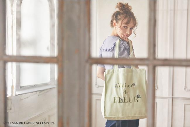 あの人気者たちがさまざまなしぐさ・表情を見せる サンリオキャラクターの「かくれんぼトートバッグ」を発売~けろけろけろっぴ、バッドばつ丸、ハンギョドンがMaison de FLEUR初登場~