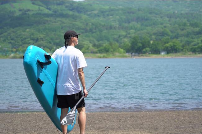 水陸両用アウトドアショーツ「PLAY AMPHIBIA Waterside Shorts」 吸汗速乾・耐塩素・紫外線遮蔽加工、メッシュライナー仕様で水辺のアウトドアアクティビティに