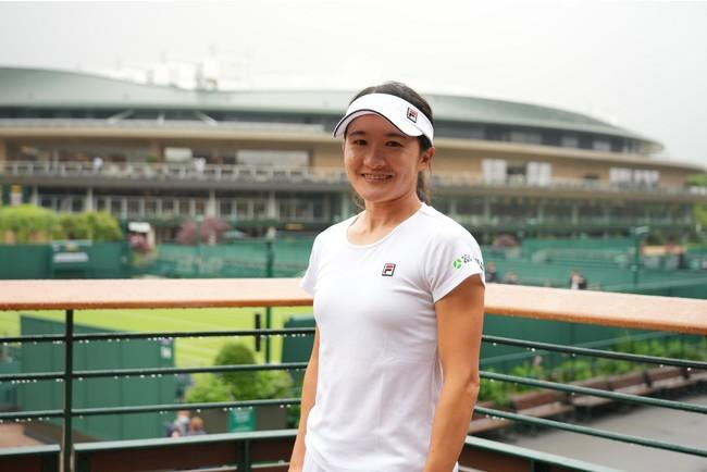 FILAがプロテニスプレイヤーの青山修子選手とウェアスポンサー契約を締結