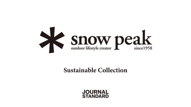 環境に配慮したサスティナブルな素材を用いたカプセルコレクションがJOURNAL STANDARD別注でリリース。