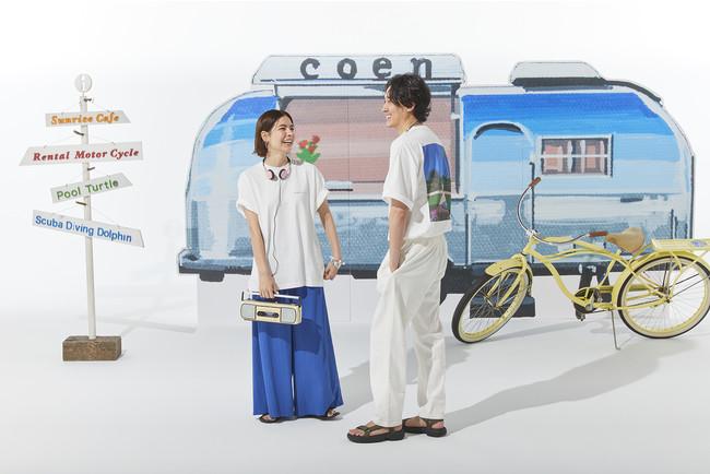 Hiroshi Nagai(永井博氏)× coenコラボ商品発売