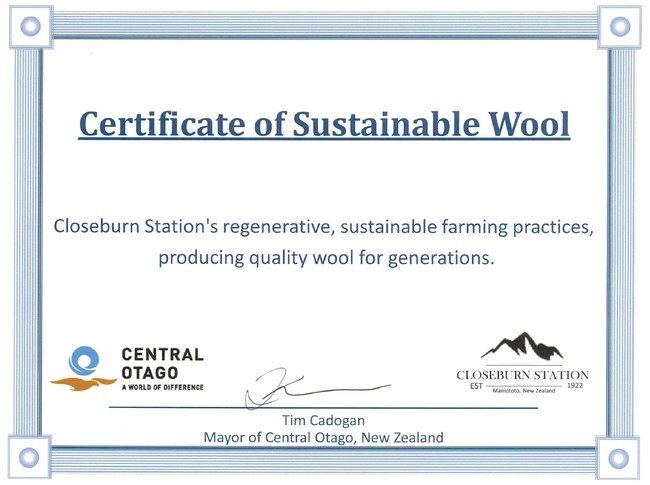 KONAKA ニュージーランドのコナカ指定牧場が「サステナブル・ウール」の認証を取得!