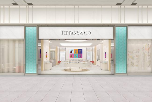 ティファニー、「ティファニー新宿髙島屋店」をリニューアルオープン