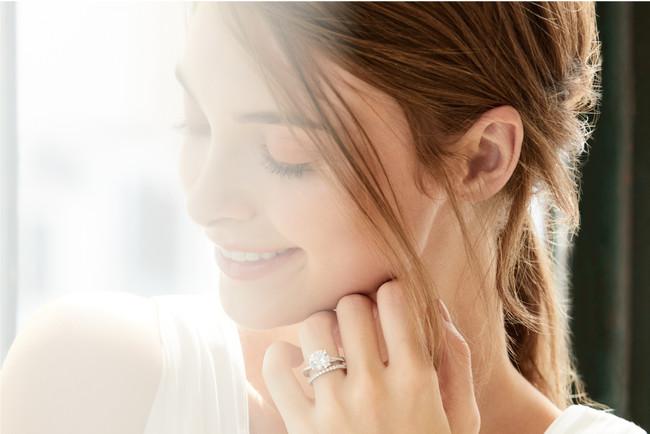 エシカルな宝石をつかった婚約指輪