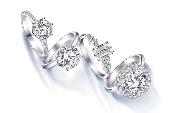 婚約指輪はすべて!ct以上
