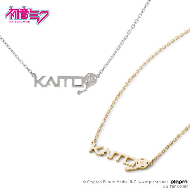 KAITOの名前のロゴとヘッドセットモチーフのデザイン