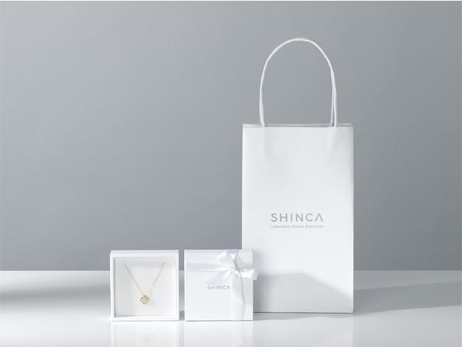 ラボグロウンダイヤモンドのSHINCA(シンカ) 地球環境に配慮した取り組みをとしてパッケージおよびショッパーにFSC®︎認証紙を使用開始。