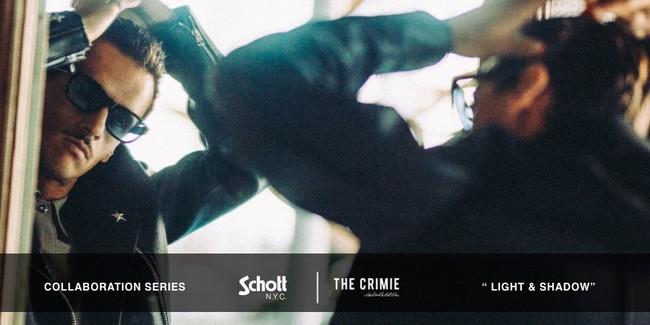 THE CRIMIEより老舗レザーウェアブランドSchottとのコラボアイテムが10月23日(土)にいよいよ販売開始。