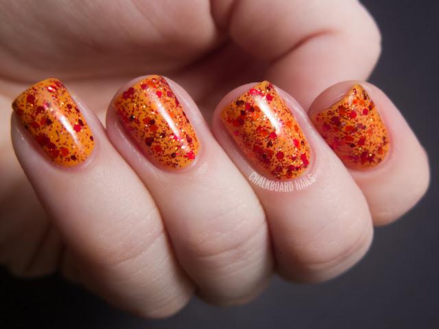 Thanksgiving Nail Art Designs & Ideas  10