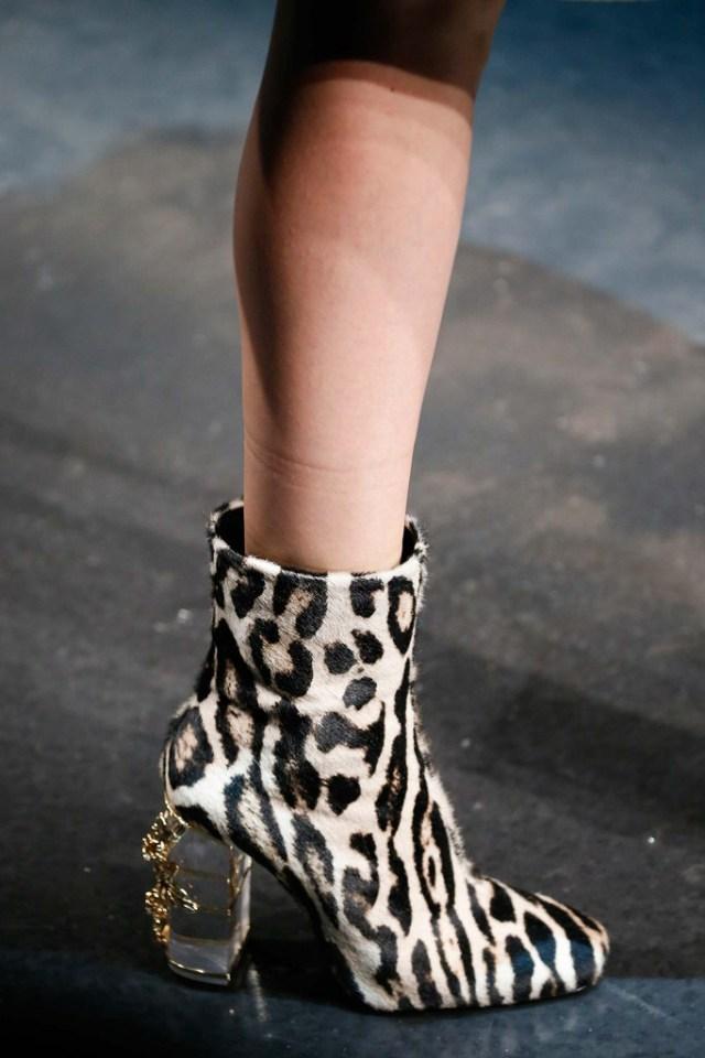 Snakesin and Animal Print Boots