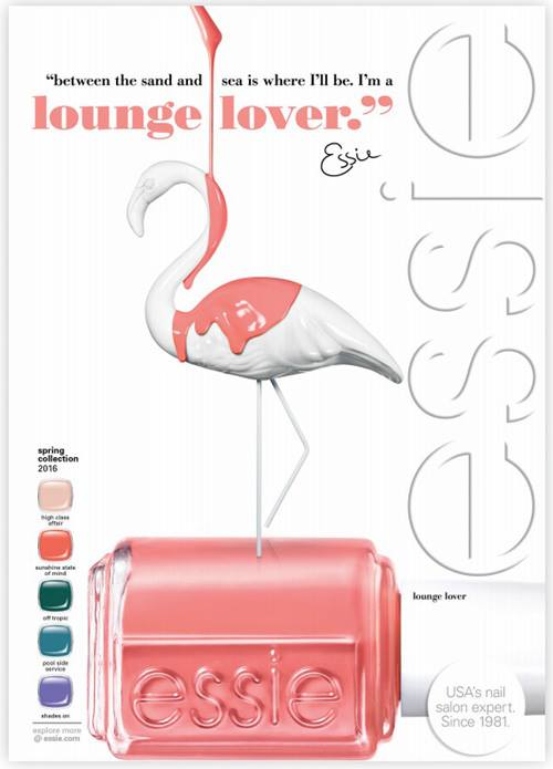 Add A Pop Of Colour This Season With Essie Spring 2016