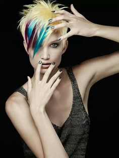 2017 Exotic Hair Color Ideas For Short Hair Fashion