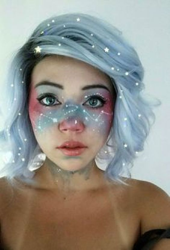 Jaw Dropping 3d Portraits 64 Pics: 15 Jaw Dropping Halloween Makeup Ideas