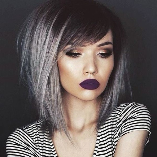 Straight medium bob for thick hair 2021 womens hairstyles