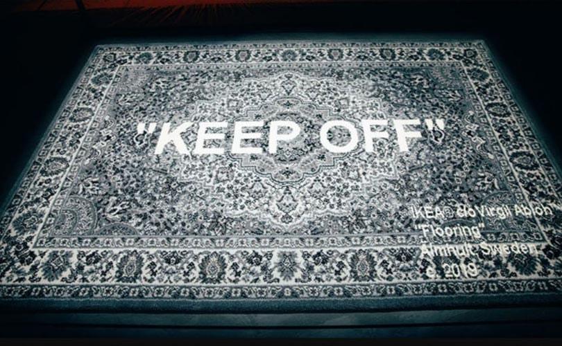 Off White X Ikea Teppiche Bereits Im Vorverkauf Ein Voller