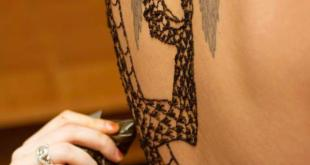 Latest Full Body Henna Tattos Designs In 2015